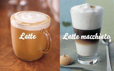 кофе латте-макиато