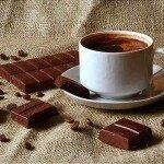 Кофе с шоколадом, медом и кардамоном.