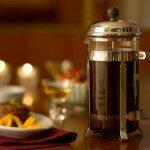 Приготовление кофе во френч-прессе