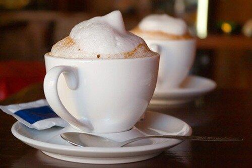 как взбить молочную пену для кофе