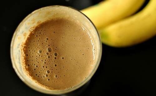 рецепт кофе с бананом