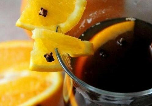 кофе с апельсином и гвоздикой