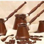 Керамическая турка для кофе.